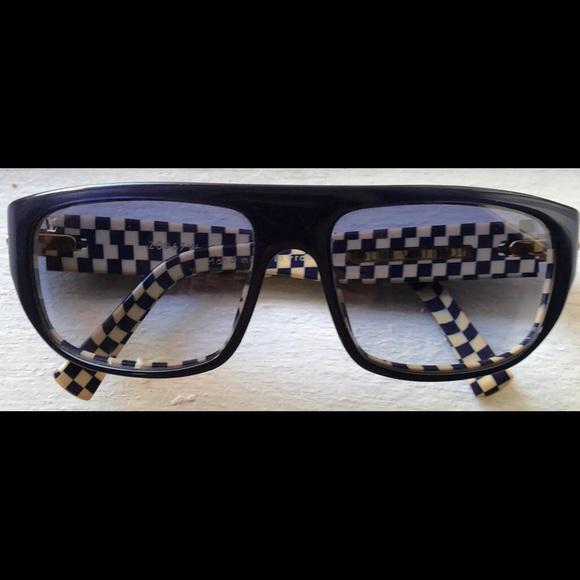 39778a50344f Louis Vuitton Accessories - LOUIS VUITTON Damier Azur Polarized Sunglasses
